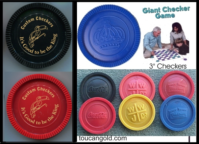 large giant jumbo checkers