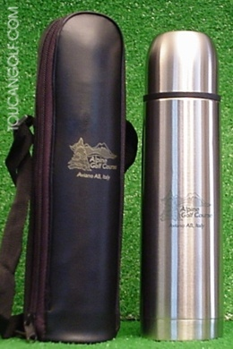 golfers thermos flask